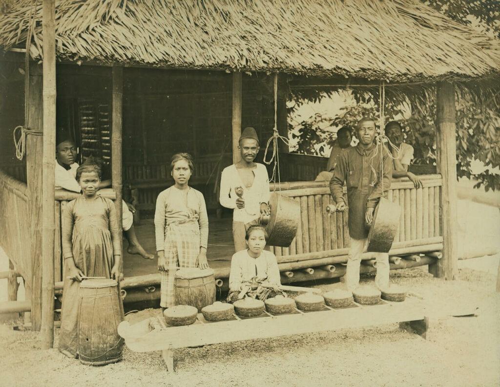 Muzycy Samal Moro, sekcja Filipin, Wystawa Światowa 1904 r.